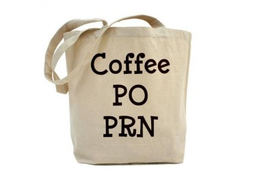 Coffee PO PRN Funny Tote Bag by CafePress