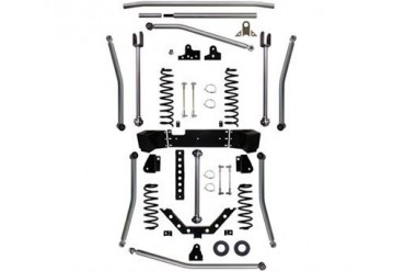 Rock Krawler 3.5 Inch Triple Threat Pro Long Arm Lift Kit JK35074 Complete Suspension Systems and Lift Kits