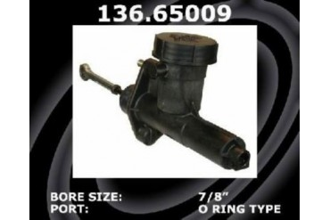 1983-1987 Ford F-150 Clutch Master Cylinder Centric Ford Clutch Master Cylinder 137.65009 83 84 85 86 87