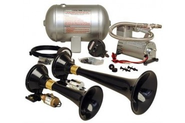 Kleinn Train Horns Complete dual train horn package with 150 psi sealed air system  HK5 Kleinn Complete Kits