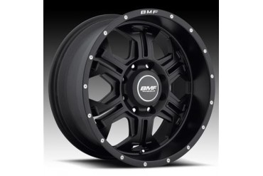 BMF Wheels S.E.R.E, 20x9 with 8 on 170 Bolt Pattern - Stealth Satin Black 463SB-090817000 BMF Wheels