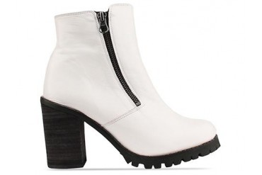 To Be Announced Sarabelle in White Leather size 6.0
