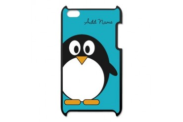 Add Name Penguin Blue iPod Touch 4 Case