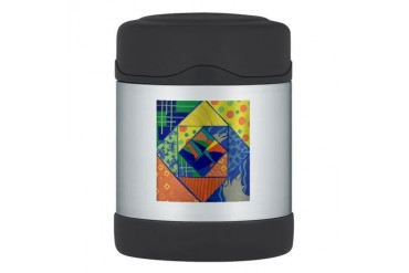 Dolphin Quilt Thermos Food Jar Hobbies Thermosreg; Food Jar by CafePress