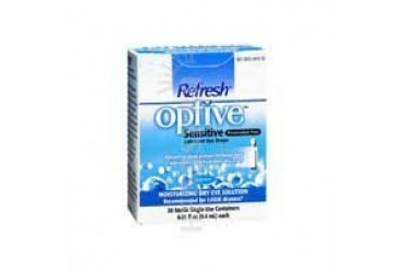 Refresh Optive Sensitive Preservative-Free Eye Drops 30 ct
