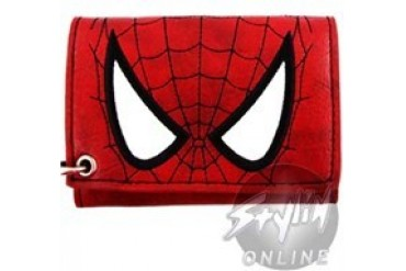 Marvel Comics Tri-Fold Spiderman Wallets with Chains