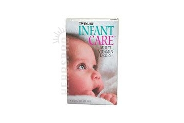 Infant Care Multi Vitamin Drops w/DHA 1.7 FL Oz