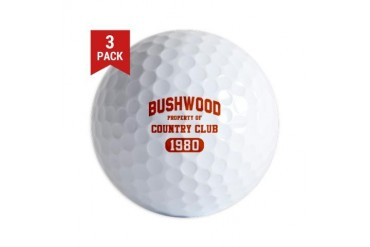 Bushwood CC Golf Balls (3-pack)