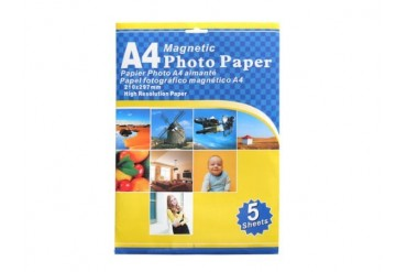 Magnetic Photo Paper 5 Sheets