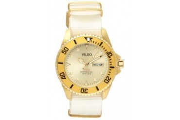 White/Gold Voyager Collection 42mm Watch