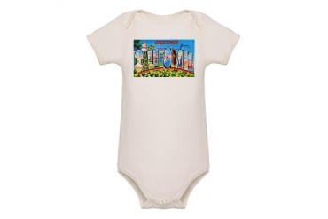 California Greetings Vintage Organic Baby Bodysuit by CafePress