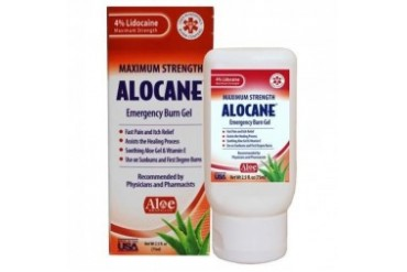 Alocane Maximum Strength Emergency Burn Gel