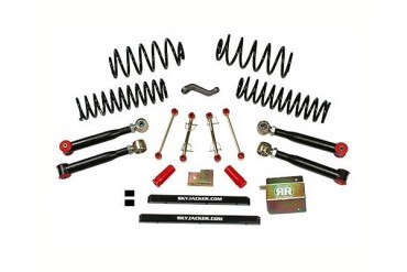 Skyjacker 2.5 Inch Value Short Arm Lift Kit Jeep Wrangler Unlimited 04-06