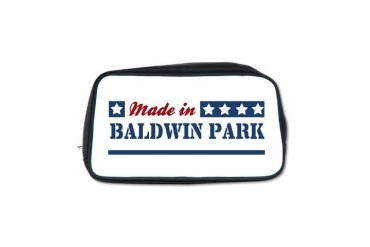 Made in Baldwin Park California Toiletry Bag by CafePress