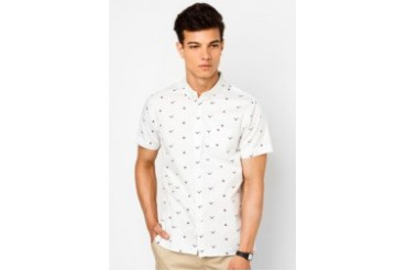 Gull & Dinghy Printed Shirt