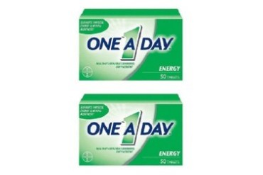 One A Day Multivitamin Multimineral Supplement All-Day Energy 2 Bottle Pack