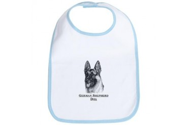 German Shepherd Dog Dog Bib by CafePress
