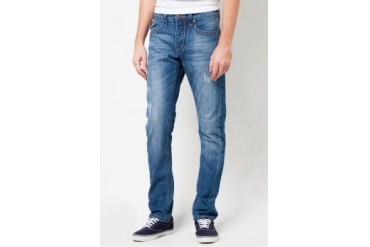 Simple Living High Thinking Jeans Orlando Mid Night Front Seam Jeans