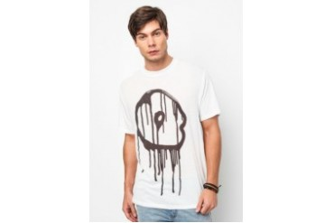 Cheap Monday Drip Skull Trouble Tee