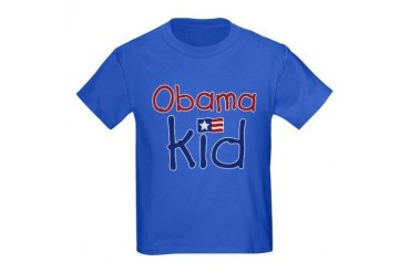 Obama Kid Kids Dark T-Shirt