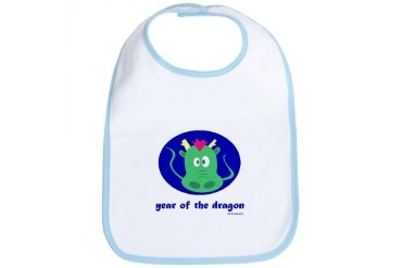 Year of the Dragon kids Dog Bib by CafePress