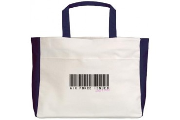 AF Issued FW.png Military Beach Tote by CafePress