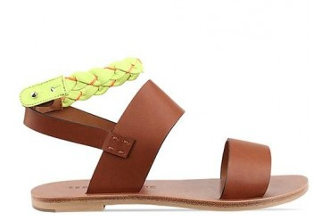 See By Chloe SB20155 in Tan Green size 6.0