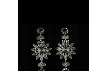 Jim Ball Earrings - Style CE541-Jet