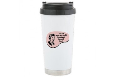 Occupational Therapist Voice Ceramic Travel Mug