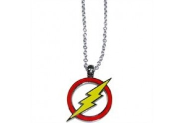DC Comics Flash Stainless Steel Logo Necklace