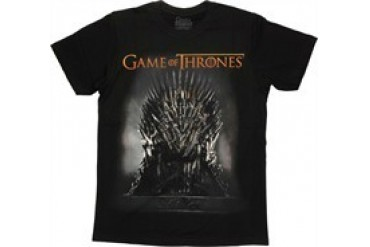 Game of Thrones Iron Throne T-Shirt Sheer