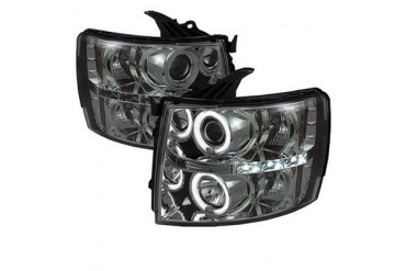 Spyder Auto Group CCFL LED Projector Headlights 5039767 Headlight Replacement