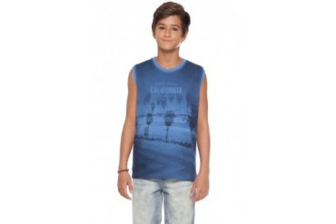 Tween Boy Everyday Muscle Shirt Teen Cotton Tank Top Sizes 10-16Y