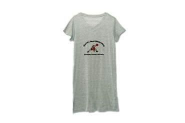 Worlds Best Basketball Cool Women's Nightshirt by CafePress