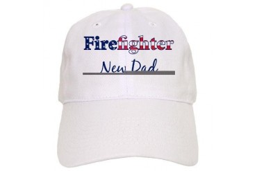 Firefighter New Dad Family Cap by CafePress