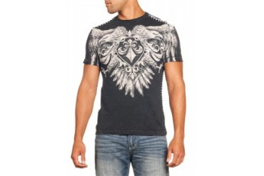 Affliction T-shirt - Affliction Sunderland Crewneck T-shirt