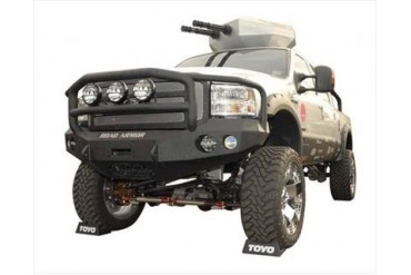 Road Armor Front Stealth Winch Bumper with  Lonestar Guard 60505B Front Bumpers