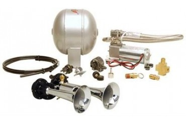 Kleinn Train Horns Complete dual air horn package with 120 psi sealed air system  HK1 Kleinn Complete Kits