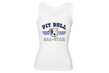 Pit Bull All-Star Blue Sports Women's Tank Top by CafePress