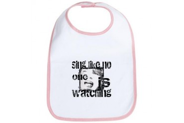 Sing like No One is Watching Humor Bib by CafePress
