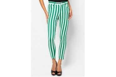 Something Borrowed Stripe Trousers