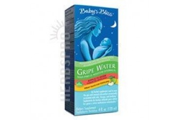Mommys Bliss Gripe Water Liquid Apple 4 oz