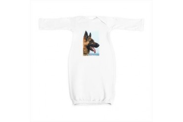 German Shepard Dog Baby Gown by CafePress