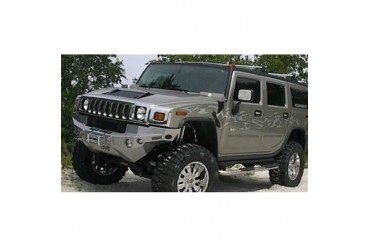 Road Armor Front Dakar Winch Bumper in Satin Black 11000B Front Bumpers