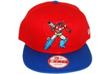 27807743e Transformers Autobot Optimus Prime Action Arch Logo 9Fifty Embroidered Snap  Closure Hat - Price Comparison
