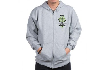 3R Environment Zip Hoodie by CafePress