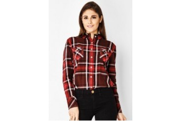 Triset Ladies Long Sleeve Shirt With Collar