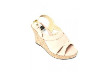 Pin Wedge Sandals