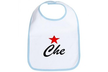 Che Guevara Revolution Politics Bib by CafePress