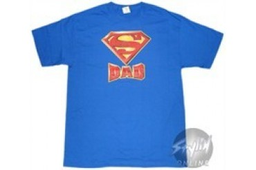 DC Comics Superman Super Dad T-Shirt